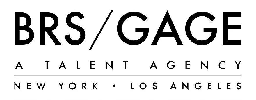 Logo for Daniella Dalli's representation BRS/GAGE Talent Agency
